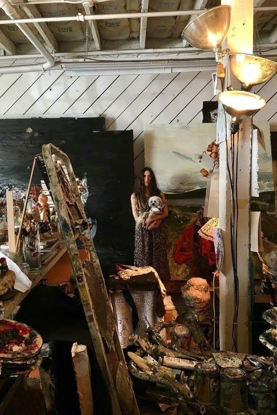 Alasan Mengapa Allison Schulnik Disebut Seniman Unik